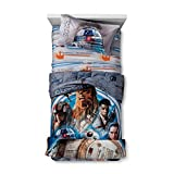 Star Wars Episode 8 Bedding Collection Twin Comforter and Sheet Set with Throw and Pillow Buddy