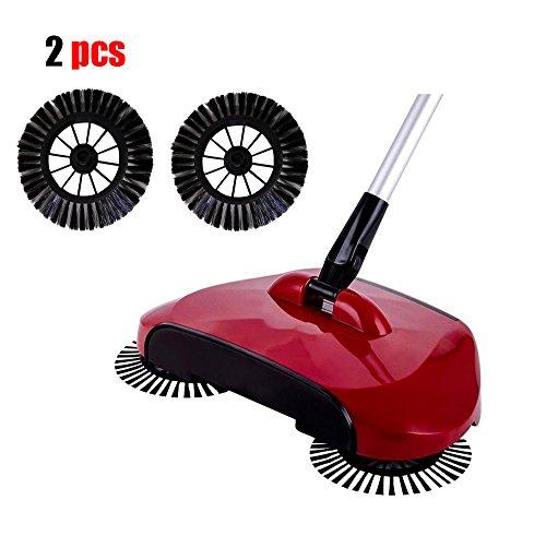Rotary Broom Sweeper : Sweeping broom kingfansion rotary home use magic