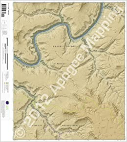 Havasu Falls, Arizona 7.5 Minute Topographic Map ... on map of meteor crater, map of shoshone falls, map of grand canyon region, map of utah, map of havasu falls, map of monument valley, map of mooney falls, map of canyon de chelly,