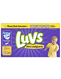 Luvs Ultra Leakguards Diapers Size 5 88 count BOBEBE Online Baby Store From New York to Miami and Los Angeles