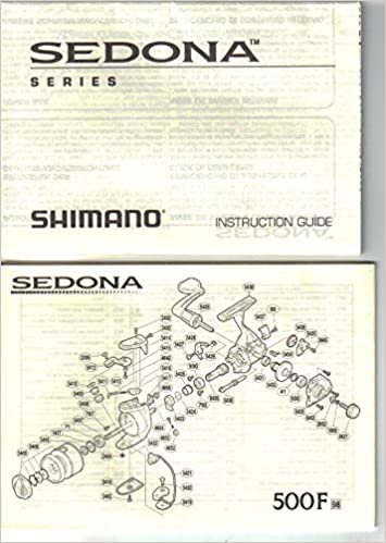 SHIMANO SEDONA Series Fishing Reel INSTRUCTION GUIDE Parts