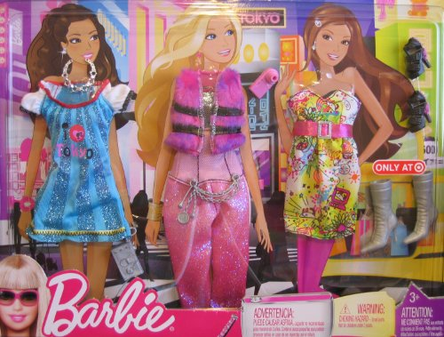 Barbie Travel Fashions TOKYO - Target Exclusive (2009) by Barbie