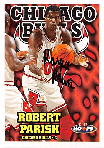 - Robert Parish autographed basketball card (Chicago Bulls) 1997 NBA Hoops #26 - Unsigned Basketball Cards
