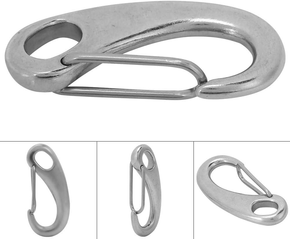 Shackle Snap Hook para Buceo Yate Flotante Accesorio de Acero Inoxidable Cierre Giratorio