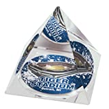 "MLB Detroit Tigers Tiger Stadium in 2"" Crystal Pyramid with Colored Windowed Gift Box"