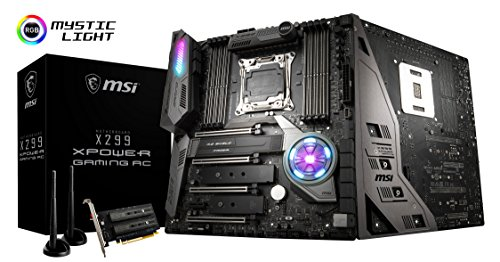Dual Msi Channel (MSI X299 XPOWER GAMING AC Desktop Motherboard - Intel Chipset - Socket R4 LGA-2066)