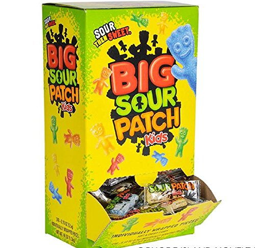 (EASTER BASKET FILLERS, SOUR PATCH KIDS, 240 pieces per box. Non-returnable. For ages 5+)
