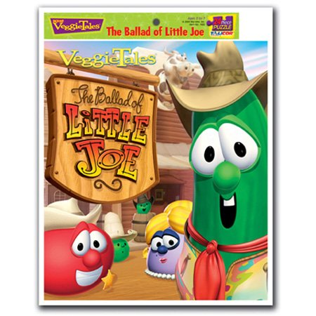 Talicor 7430 Veggietales The Ballad Of Little Joe Inlaid Puzzle ()