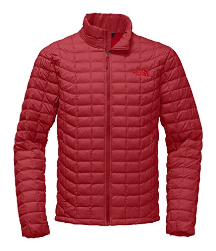 The North Face Men's Thermoball Jacket - Rage Red Matte - M