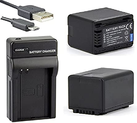 Amazon.com : Battery (2-Pack) and Micro USB Charger For ...