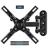 Mounting Dream MD2462 TV Monitor Wall Mount Bracket with Full Motion Articulating Arm for most 17-39 Inches LED, LCD TVs up to VESA 200x200mm and 33 LBS, with Tilt and Swivel