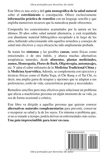 Adiós ESTREÑIMIENTO. Remedios Naturales, Terapias Alternativas y Complementarias. (Spanish Edition): Maribel Melián: 9781521433973: Amazon.com: Books