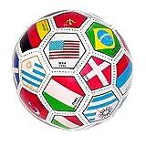 #1: Full Sized World International Soccer Ball, mixed