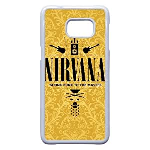 Printed Cover Protector Samsung Galaxy S6 Edge Plus Cell Phone Case White Nirvana Wtjeo Printed Cover Protector