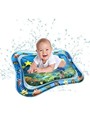 Kids Inflatable Tummy Time Premium Water mat Infants & Toddlers is The Perfect Fun time Play Activity Center Your Baby's Stimulation Growth