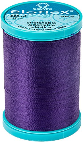 Coats Eloflex Stretch Thread 225yd-purple