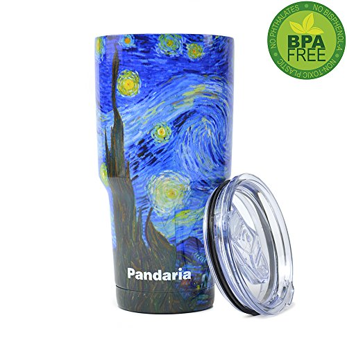 Pandaria 30 oz Stainless Steel Vacuum Insulated Tumbler with