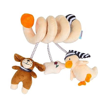 Pesebre espiral colgantes cochecito de dibujos animados Toy ...