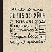 El libro de visitas de mis 50 años: Decoración retro vintage para el 50 cumpleaños – Regalos originales para hombre y…