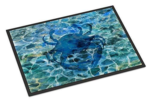 "Caroline's Treasures Blue Crab Under Water Doormat 18 H x 27 W"" Multicolor from Caroline's Treasures"