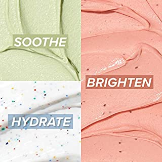 I DEW CARE Mini Scoops | Wash Off Face Mask Skin Care Trio | Korean Skin Care Starter Set | Facial Treatment, Vegan, Cruelty-free, Paraben-free