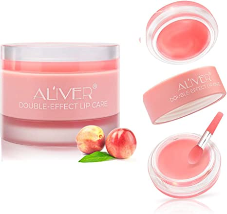 Amazon Com Aliver Nature Lip Scrub 2 In 1 Exfoliating