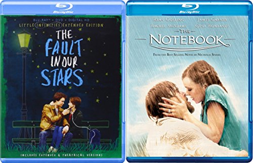 Young Romance Blu-ray Bundle - The Notebook & The Fault in Our Stars 2-Movie Collection (The Fault In Our Stars Blu Ray)