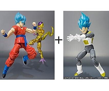 SH Figuarts Action Figure BANDAI Dragon Ball Super Saiyan God SS Goku S.H