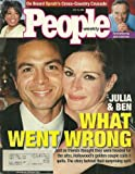 Julia Roberts and Benjamin Bratt, Oprah Winfrey, Jack Lemmon - July 16, 2001 People Weekly Magazine