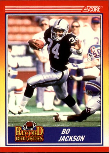 - 1990 Score Football Card #591 Bo Jackson