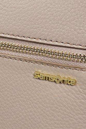 """Samsonite Highline Borsa Messenger 14.1"""", Pelle, Cinder, 10.5 ml, 41 cm"""