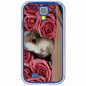 Personalized Samsung Galaxy S4 SIV 9500 Back Cover Diy PC Hard Shell Case Guinea Pig White