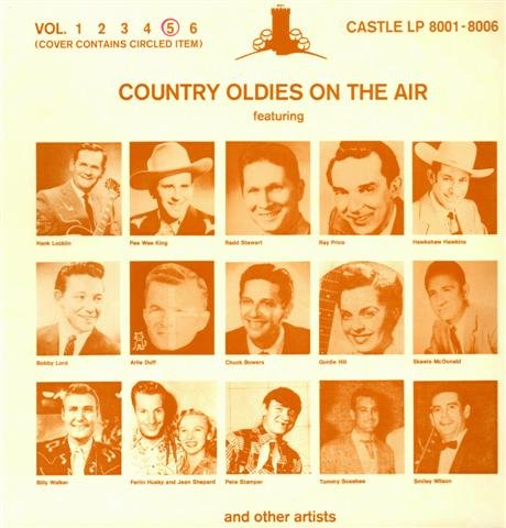 Billy Slim Jeans - Various Artists-Country Oldies On The Air Vol.5