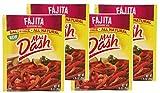 Mrs Dash Salt Free Fajita Seasoning Mix (Pack of 4) 1.25 oz Packets