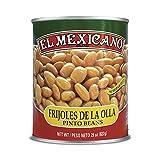 El Mexicano Frijol Entero Pinto de la Olla, 822 g