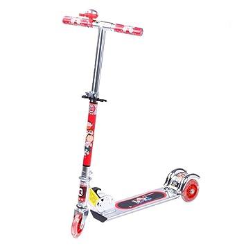 Patinete Aluminio -Plegable Monopatín Scooter para Ciudad ...