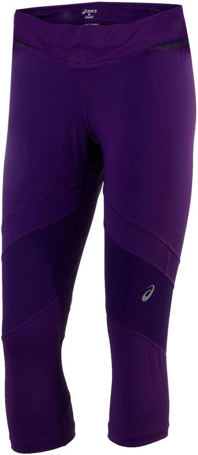 ASICS Malla 3/4 Purpura Mujer