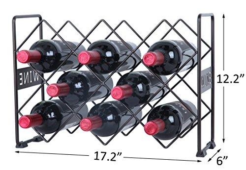 Review Finnhomy 10 Bottle Wine