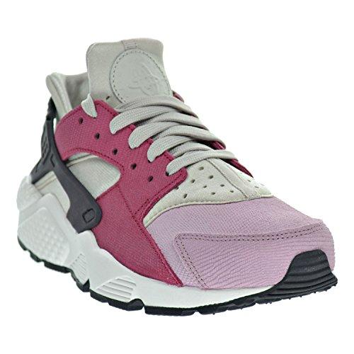 uk availability 82d0e 566c5 Nike Air Huarache Run PRM Women s Shoes Light Bone Black Noble Red Plum