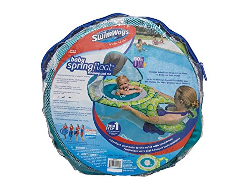 SwimWays Baby Spring Float Mommy and Me - Color May Vary by SwimWays