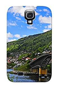 Hot Fashion NoHMSzx3154iAKFF Design Case Cover For Galaxy S4 Protective Case (bridge)