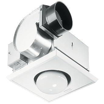 High Quality 9417DN, Nutone 70 CFM Heat A Vent Bathroom Fan With One Bulb