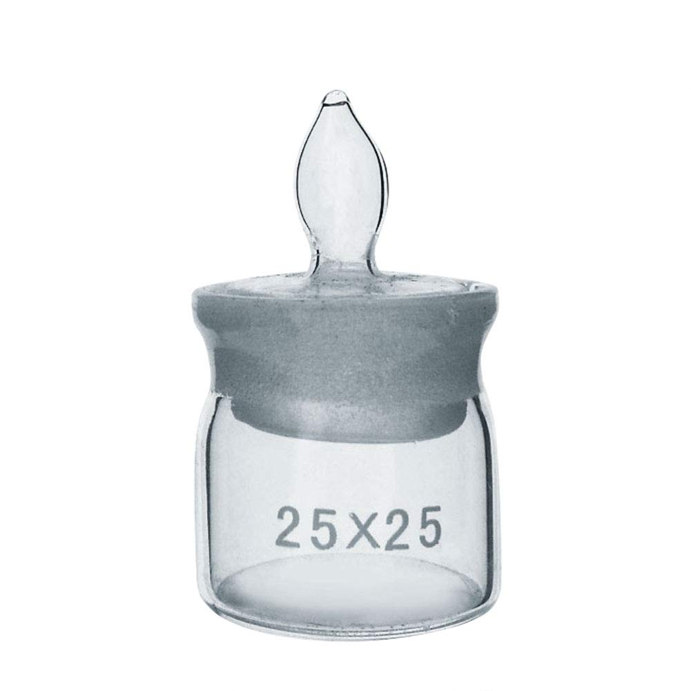Weighing Bottle, Tall Form, Borosilicate 3.3 Glass, Dim. 25×25mm(Pack of 20) by Adamas-Beta