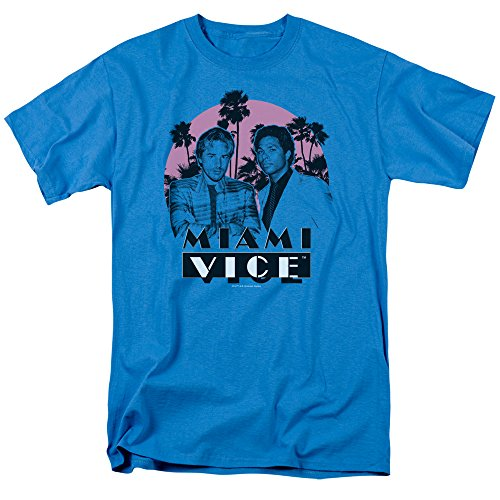 Men's Miami Vice Crockett and Tubbs T-shirt
