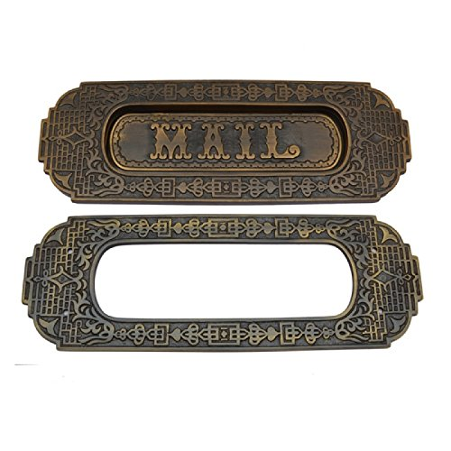 Adonai Hardware Mail Decorative Brass Letter Plate