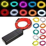 Lights & Lighting - 3m 10 Colors Flexible Neon El Wire Light Dance Party Decor Light - Neon El Wire Light Car - 1PCs