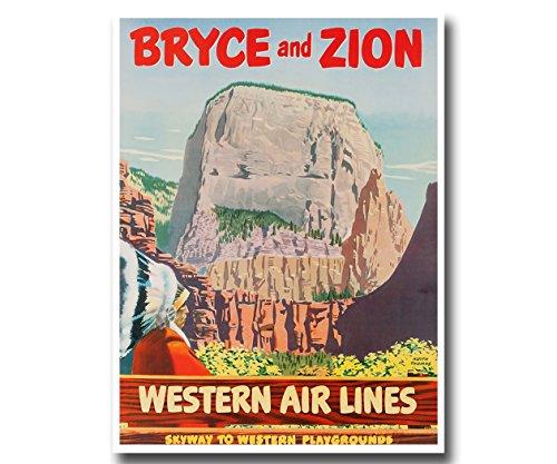 vintage travel posters utah