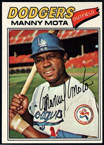 Baseball MLB 1977 Topps #386 Manny Mota Dodgers