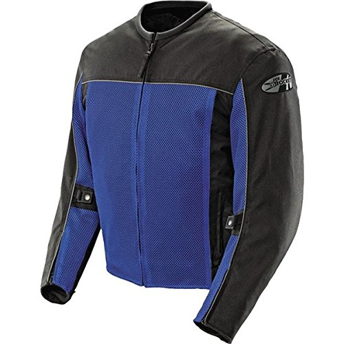 Joe Rocket Velocity Men's Textile Street Racing Motorcycle Jacket - Blue/Black/Medium