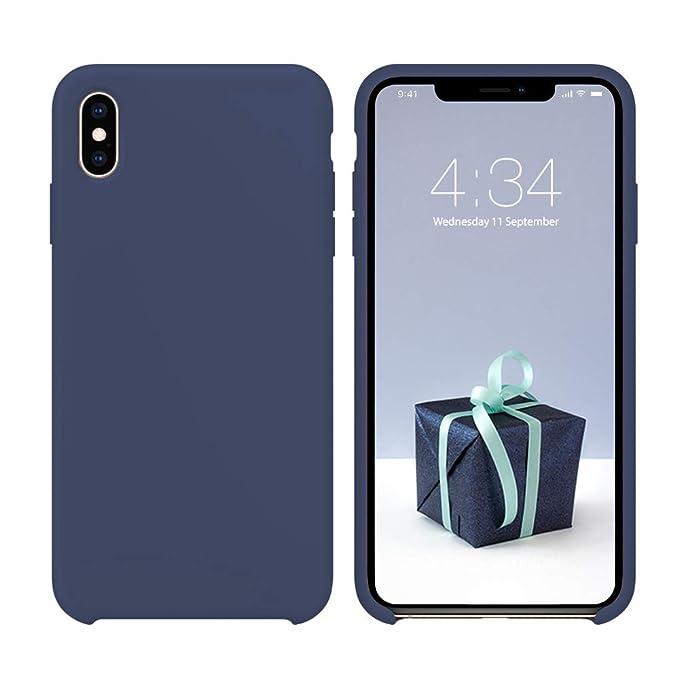 Amazon.com: Funda para iPhone X, funda de silicona para ...